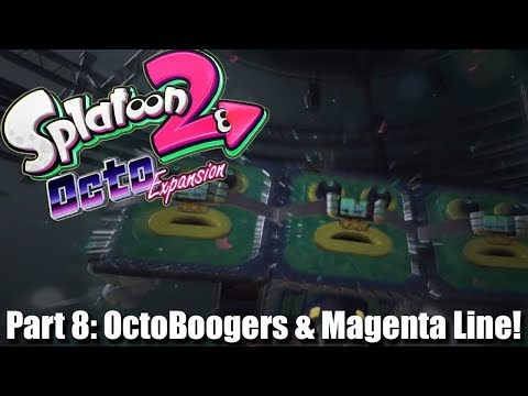 Splatoon 2 Octo Expansion 100% W/DUDE: #8 OctoBoogers & Magenta Line Missions!