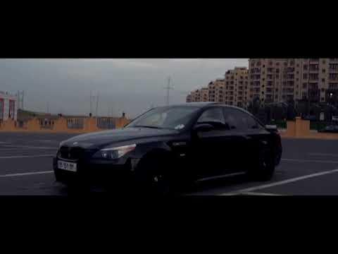 BMW M5 E60 Black - Song & Movie For Fans BMW (Vossen Wheels)