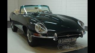 Jaguar E-Type S1 cabriolet 1966-VIDEO- www.ERclassics.com