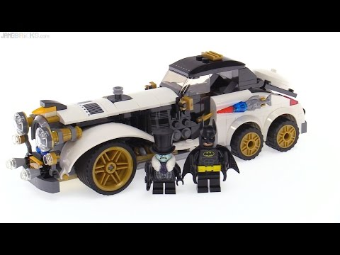 LEGO Batman Movie The Penguin Arctic Roller review! 70911