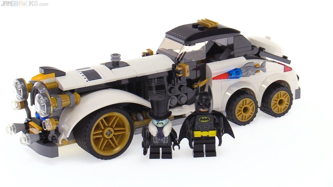 Lego Batman Movie The Penguin Arctic Roller Review 70911 Youtube