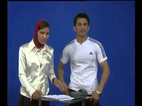 Funny Afghan Fight On National TV - Arina
