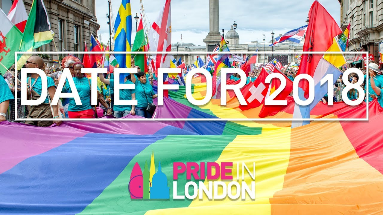 bc7b414360dd Pride in London 2018 Date Revealed - YouTube