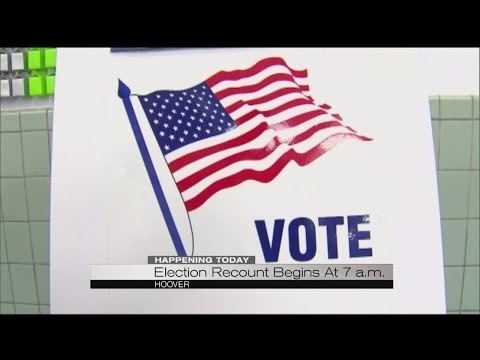 Election recount begins at 7 a.m.