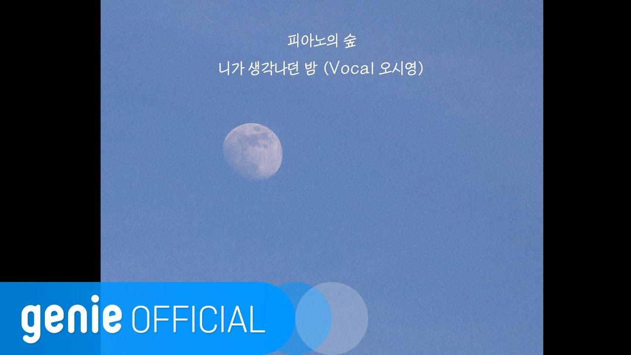 피아노의 숲 The Piano Forest - 니가 생각나던 밤 The Night I Think Of You (Vocal 오시영) Lyric Video