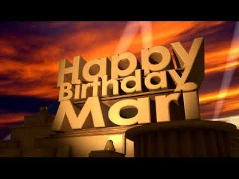 Happy Birthday Mari Youtube