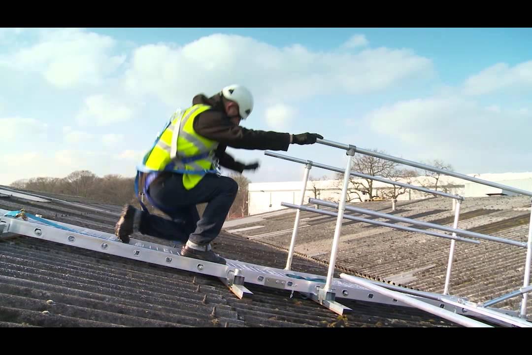 Board Walk A Safe Working Platform For Fragile Roofs Youtube