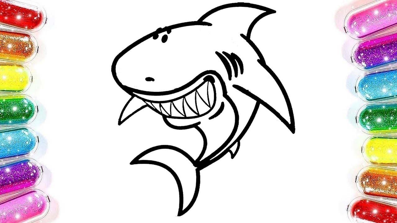 Yunus Balığı Boyama Renkleri öğreniyorum Boyama Oyunu çizgi Film