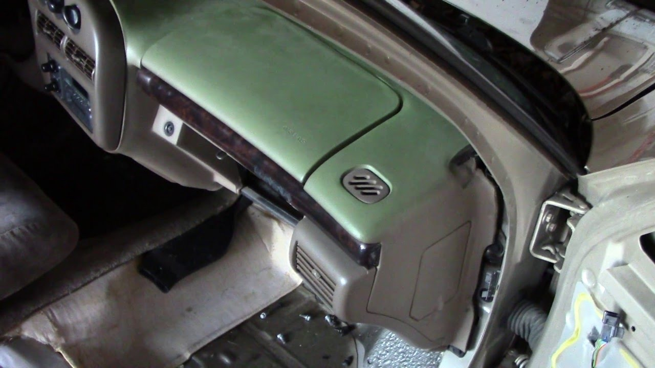 hight resolution of how to remove passenger dash airbag