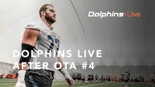 Dolphins Live: Jesse Davis, Kenyan Drake, and Bobby McCain meets with the media