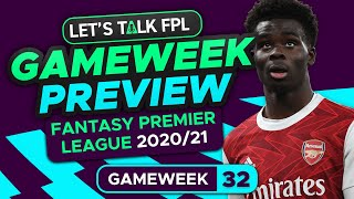FPL Gameweek 32 Preview | Best Cheap Midfielders | Fantasy Premier League Tips 2020/21