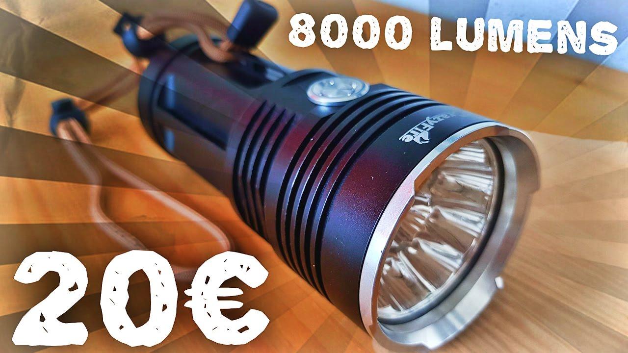 Lunaris2142 teste une lampe torche 10 led crazyfire 8000 lumens lunaris2142 teste une lampe torche 10 led crazyfire 8000 lumens parisarafo Image collections