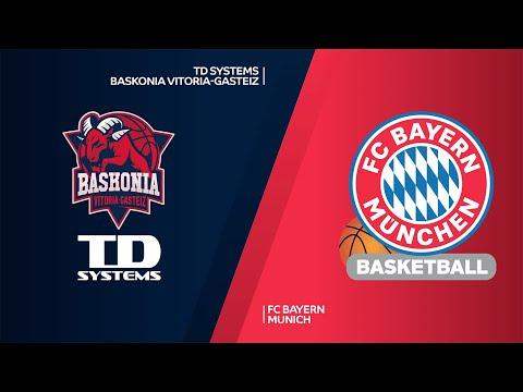 TD Systems Baskonia Vitoria-Gasteiz - FC Bayern Munich Highlights   EuroLeague, RS Round 29