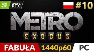 Metro Exodus PL  #10 (odc.10) ❄️ Wagon i kult | Gameplay po polsku RTX On
