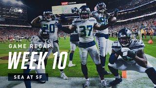 2019 Week 10: Seahawks at 49ers Recap