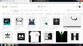 I showed him how to make B3dava T-shirts in Roblox