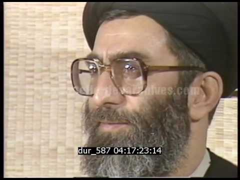 Conférence de presse du président Ali Khamenei