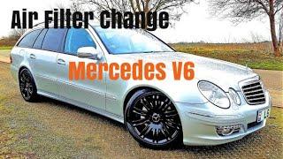 видео Воздушный фильтр на Mercedes CLS 1 (C219), 2 (C218) - 2.1, 3.0, 3.5, 4.7, 5.5, 6.2 л. – Магазин DOK