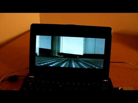 Asus EeePC 1005PE : Performances video et 3D