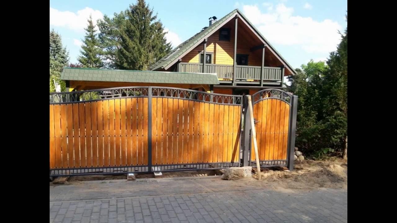 Zäune aus Polen Metallzäune Witkowski PL YouTube ~ 22214639_Garten Springbrunnen Aus Polen