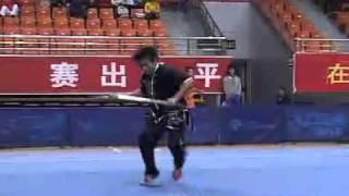 2010年全国武术套路锦标赛(传统)M23 001 男子朴刀 李荣沐