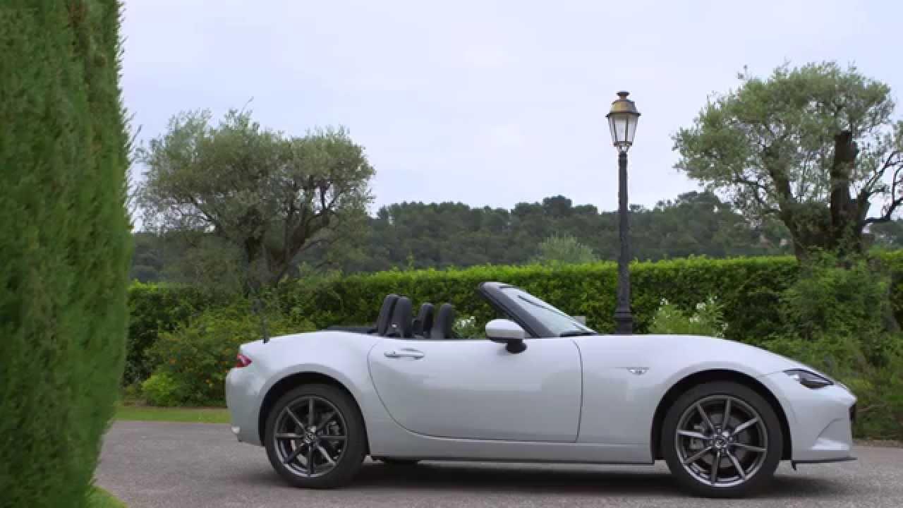 Mazda Mx 5 Rf >> All-new Mazda MX-5 Sneak Peek 2015 - Ceramic Metallic Exterior Design | AutoMotoTV - YouTube