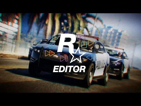 Grand Theft Auto V - Presentamos el Editor Rockstar