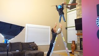 CRAZY CEILING FAN TRICK!!