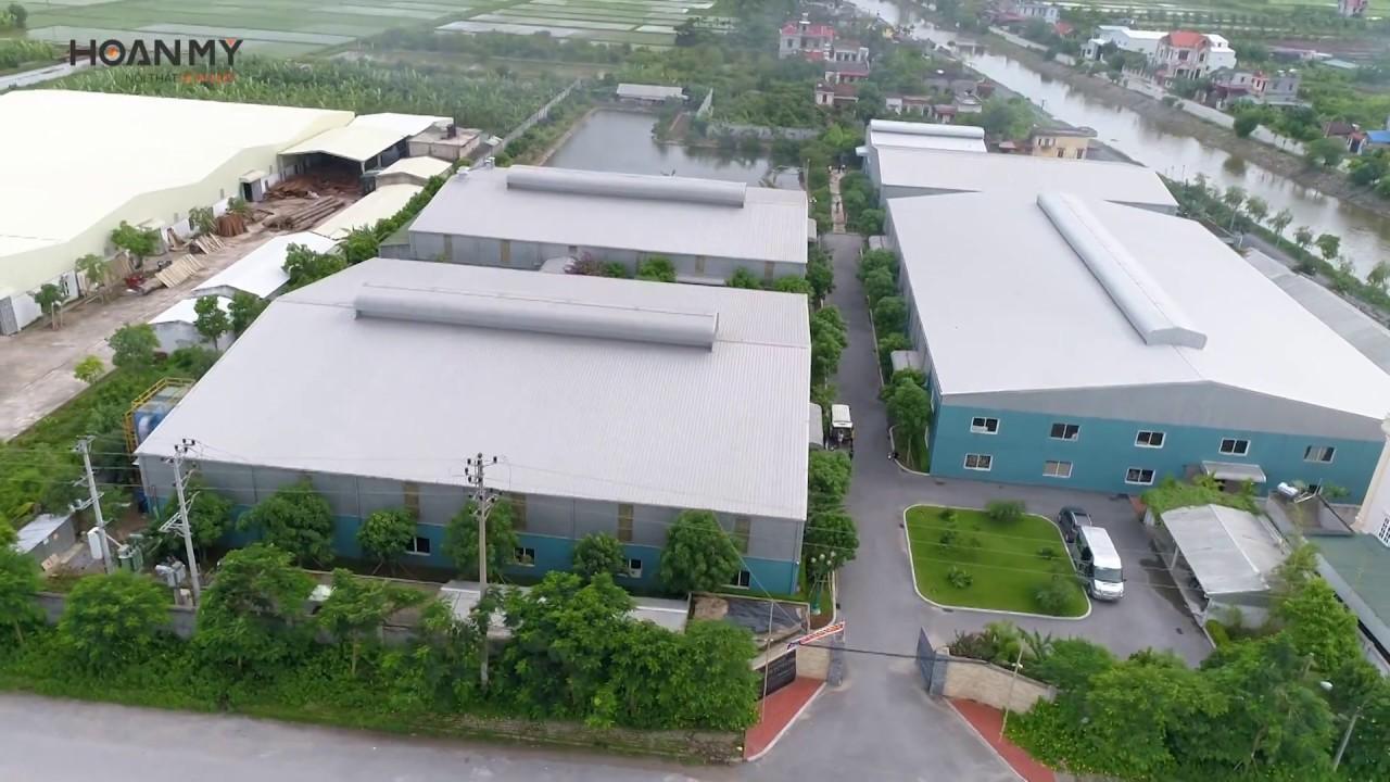 Nhà máy Nội thất Hoàn Mỹ _ năm 2017