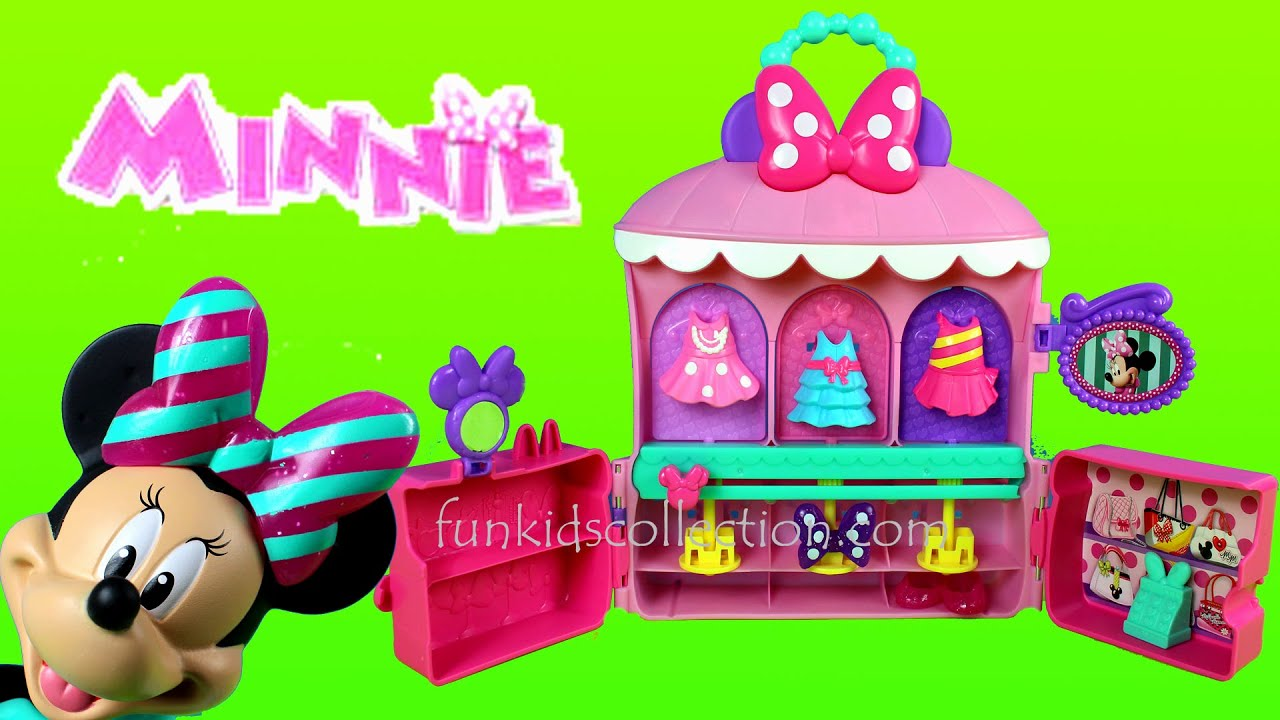 disney minnie sparkle 'n spin fashion bow-tique by fisher price ... - Cucina Fisher Price