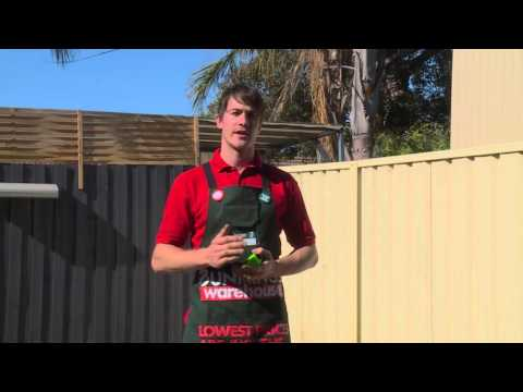 How To Install A Retractable Clothesline - DIY At Bunnings