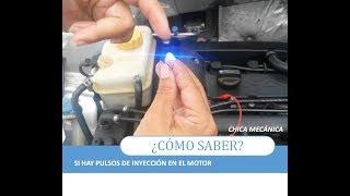 Como probar si hay pulsos de inyección en el motor 🛠 [Computadoras Modernas]