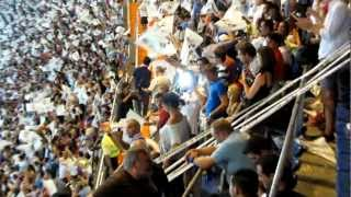 Eufòria desbordant merengues amb el xiulet final tornada SuperCopa d