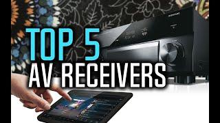 Best AV Receivers in 2018 - Which Is The Best AV Receiver?