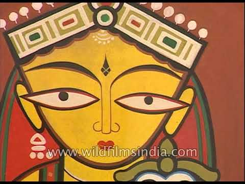 art exhibition by jamini roy in the year 1997