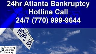 how much is a bankruptcy attorney atlanta  770 999 9644 lawyer chapter 7 chapter 13 cost fee georgia