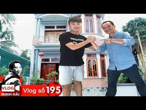 Vlog Minh Hải | Thăm nhà Xuân Trường và khám phá  kỷ vật lần đầu thấy