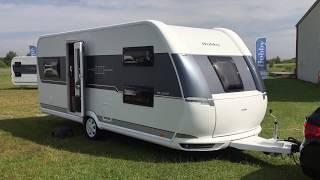 Snapvideo: Hobby De Luxe 515 UHK-campingvogn (2018-model)