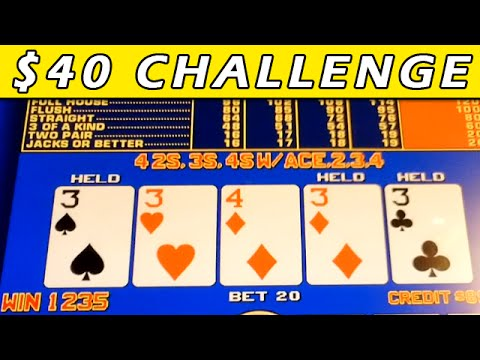 Video Poker Play + Jackpots AS IT HAPPENS!