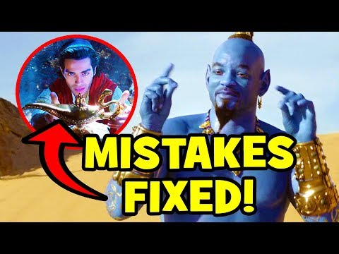 12 Disney Mistakes FIXED In ALADDIN (2019)