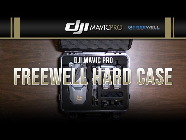 DJI Mavic Pro / Freewell Hard Case (Showcase)