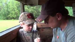 Horn Swamp hog hunt with Andrew & William Malone