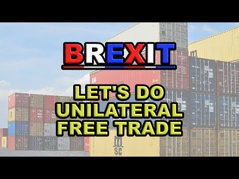 Tariff Free Trade is Now the Brexit Fashion