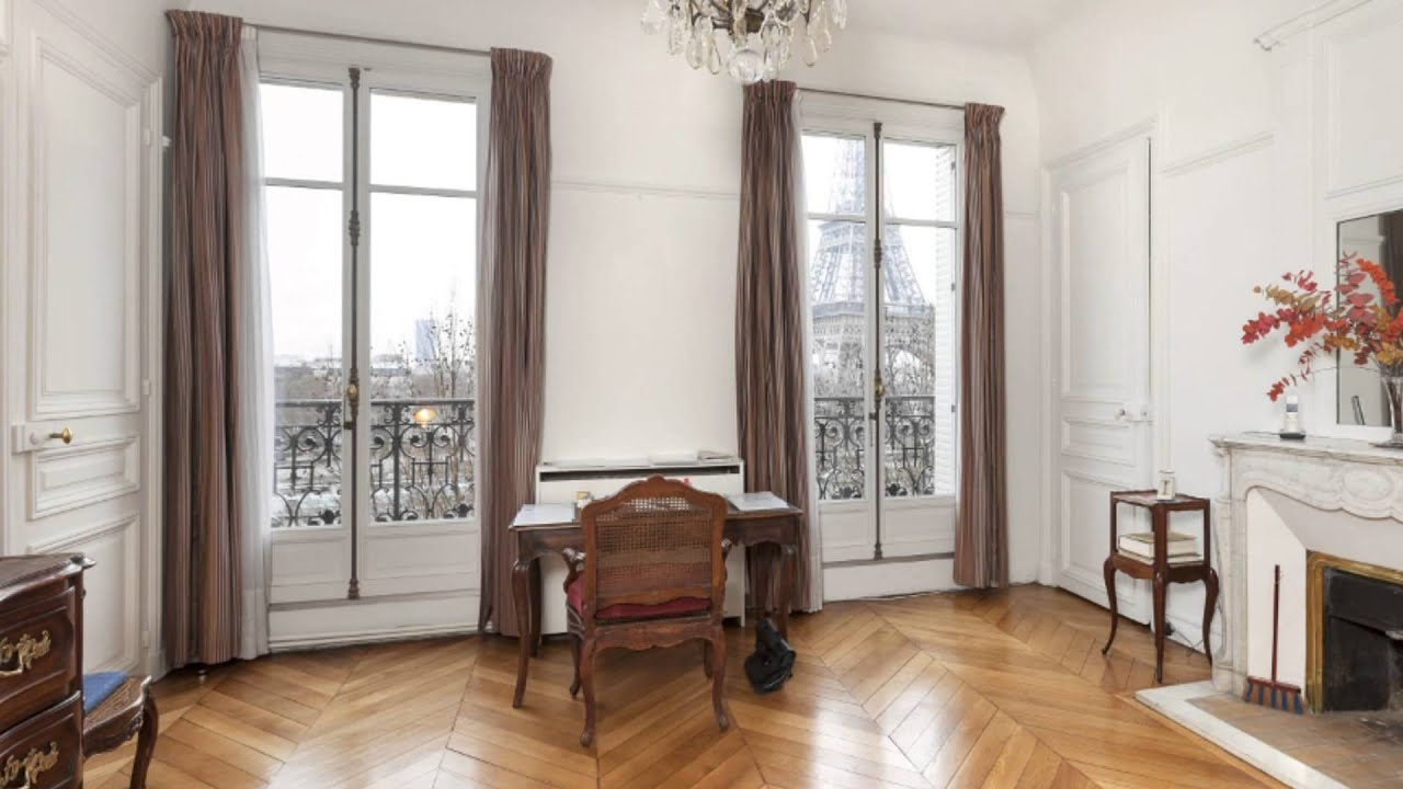 vente appartement face la tour eiffel trocad ro paris 16 me 75016 youtube. Black Bedroom Furniture Sets. Home Design Ideas