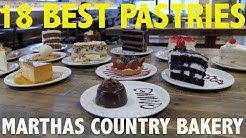 Best Cake and Pastries in America l MARTHAS COUNTRY BAKERY l Food Review l EmonEats