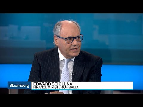 Malta's Scicluna Sees Position of Strength in Economic Growth