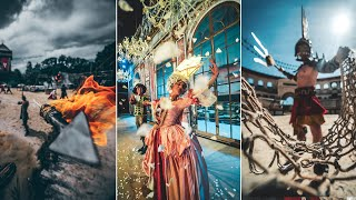 13 PHOTOGRAPHY IDEAS in a THEME PARK