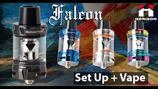 Using the Falcon Tank by HorizonTech ft. VapeMalone
