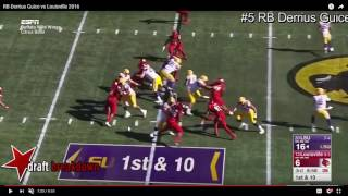 Matt Waldman uses the tape of Guice, a top running back prospect fo...