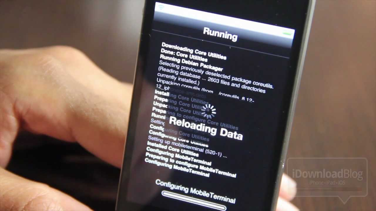 How to Install Mobile Terminal on iOS 5